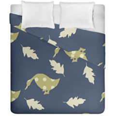 Duck Tech Repeat Duvet Cover Double Side (california King Size) by Simbadda