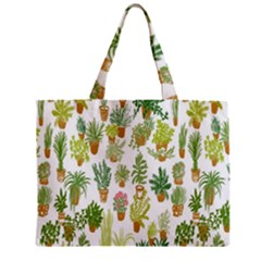 Flowers Pattern Mini Tote Bag