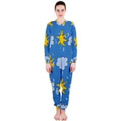 Sunshine Tech Blue OnePiece Jumpsuit (Ladies)  by Simbadda