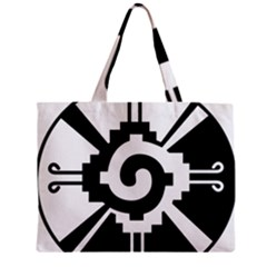 Maya Calendar Native American Religion Zipper Mini Tote Bag by Onesevenart