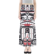 Ethnic Traditional Art Maxi Skirts by Onesevenart