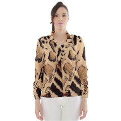 Animal Fabric Patterns Wind Breaker (women) by Onesevenart