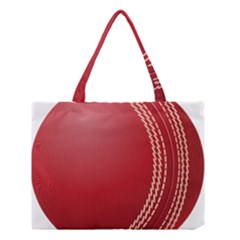 Cricket Ball Medium Tote Bag by Onesevenart