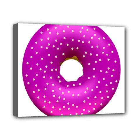 Donut Transparent Clip Art Canvas 10  X 8  by Onesevenart