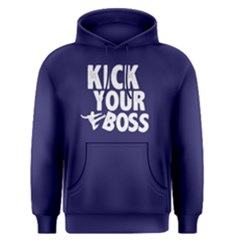 Kick your boss - Men s Pullover Hoodie by FunnySaying