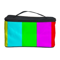 Color Bars & Tones Cosmetic Storage Case by Simbadda