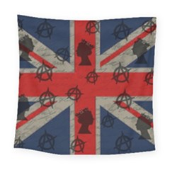 United Kingdom  Square Tapestry (large) by Valentinaart