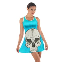 Skull Ball Line Schedule Cotton Racerback Dress