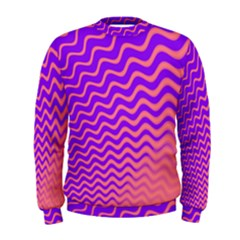 Pink And Purple Men s Sweatshirt