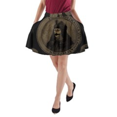 Count Vlad Dracula A Line Pocket Skirt by Valentinaart