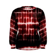 Electric Lines Pattern Women s Sweatshirt