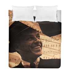 Frank Sinatra  Duvet Cover Double Side (full/ Double Size) by Valentinaart