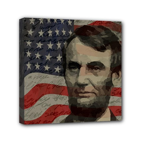 Lincoln Day  Mini Canvas 6  X 6  by Valentinaart