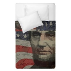 Lincoln Day  Duvet Cover Double Side (single Size) by Valentinaart