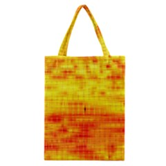 Bright Background Orange Yellow Classic Tote Bag by Simbadda