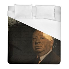 Alfred Hitchcock   Psycho  Duvet Cover (full/ Double Size) by Valentinaart