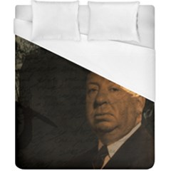 Alfred Hitchcock   Psycho  Duvet Cover (california King Size) by Valentinaart