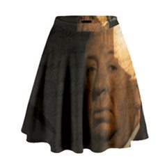 Alfred Hitchcock   Psycho  High Waist Skirt by Valentinaart