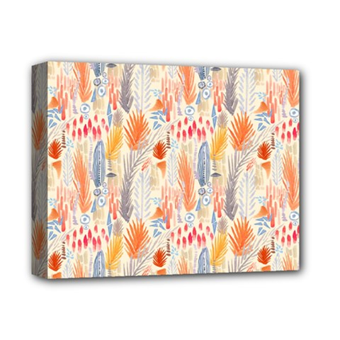 Repeating Pattern How To Deluxe Canvas 14  X 11  by Simbadda