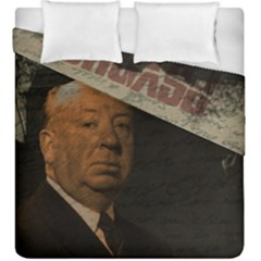 Alfred Hitchcock   Psycho  Duvet Cover Double Side (king Size) by Valentinaart