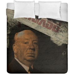 Alfred Hitchcock   Psycho  Duvet Cover Double Side (california King Size) by Valentinaart