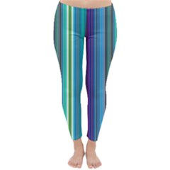 Color Stripes Classic Winter Leggings by Simbadda