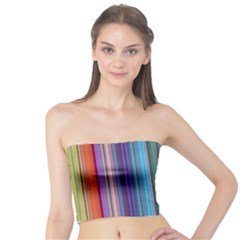 Color Stripes Tube Top by Simbadda
