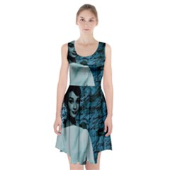Audrey Hepburn Racerback Midi Dress