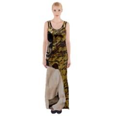 Audrey Hepburn Maxi Thigh Split Dress by Valentinaart