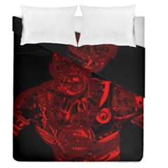 Warrior   Red Duvet Cover Double Side (queen Size) by Valentinaart