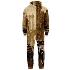 Vintage Old Car Hooded Jumpsuit (men)