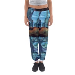 Urban Swimmers   Women s Jogger Sweatpants by Valentinaart