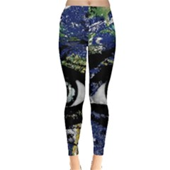 Mother Earth  Leggings  by Valentinaart