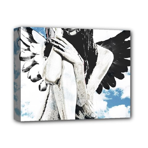 Angel Deluxe Canvas 14  X 11  by Valentinaart
