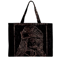 Count Vlad Dracula Zipper Mini Tote Bag by Valentinaart