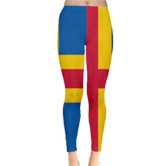Flag Of Aland Leggings  by abbeyz71