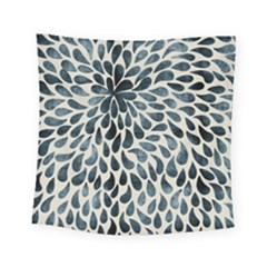 Abstract Flower Petals Floral Square Tapestry (small) by Simbadda