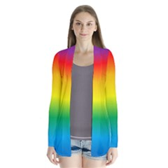 Rainbow Background Colourful Cardigans by Simbadda