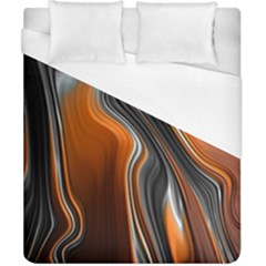 Fractal Structure Mathematics Duvet Cover (california King Size) by Simbadda