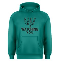 Boss Is Watching You   Men s Pullover Hoodie by FunnySaying