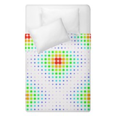 Color Square Duvet Cover Double Side (single Size) by Simbadda