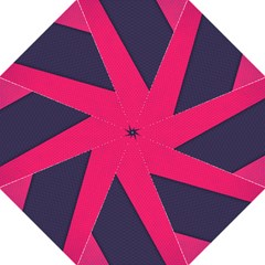 Pink Pattern Golf Umbrellas