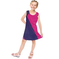 Pink Pattern Kids  Tunic Dress by Simbadda