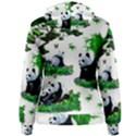 Cute Panda Cartoon Women s Pullover Hoodie View2