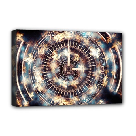 Science Fiction Background Fantasy Deluxe Canvas 18  X 12   by Simbadda