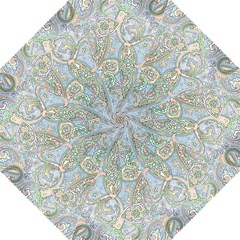 Paisley Boho Hippie Retro Fashion Print Pattern  Straight Umbrellas by CrypticFragmentsColors