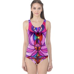 Devine Feminine Activation   One Piece Swimsuit by tealswan
