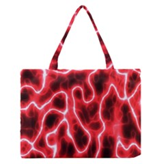 Pattern Background Abstract Medium Zipper Tote Bag by Simbadda