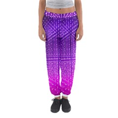 Pattern Light Color Structure Women s Jogger Sweatpants by Simbadda