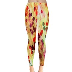 Background Color Pattern Abstract Leggings  by Simbadda